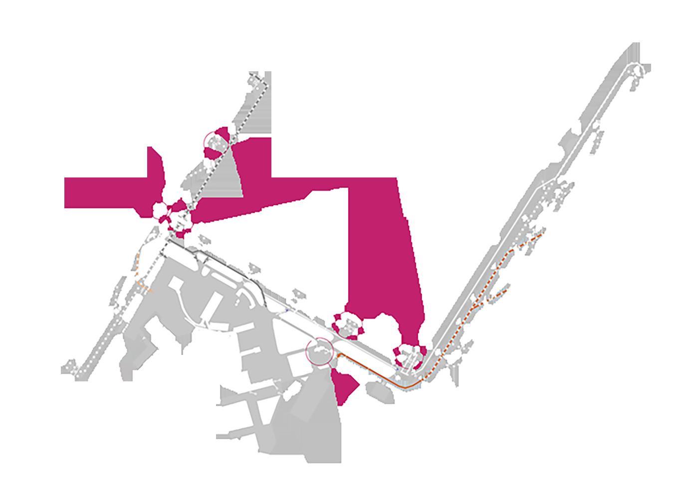 mappa romafiumi